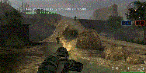 Socom U.S. Navy Seals Fireteam Bravo 2 Platinum (psp used game)