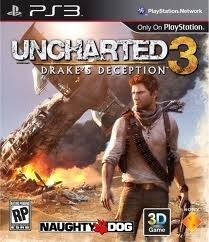 Uncharted 3: Drake's Deception (ps3 used game)