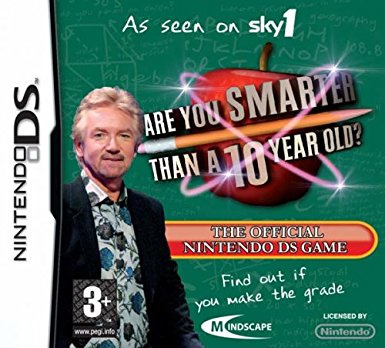 Are you smarter than a 10 year old? (Nintendo DS nieuw)