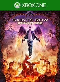Saints Row IV inclusief Gat out of Hell  (Xbox one tweedehands game)