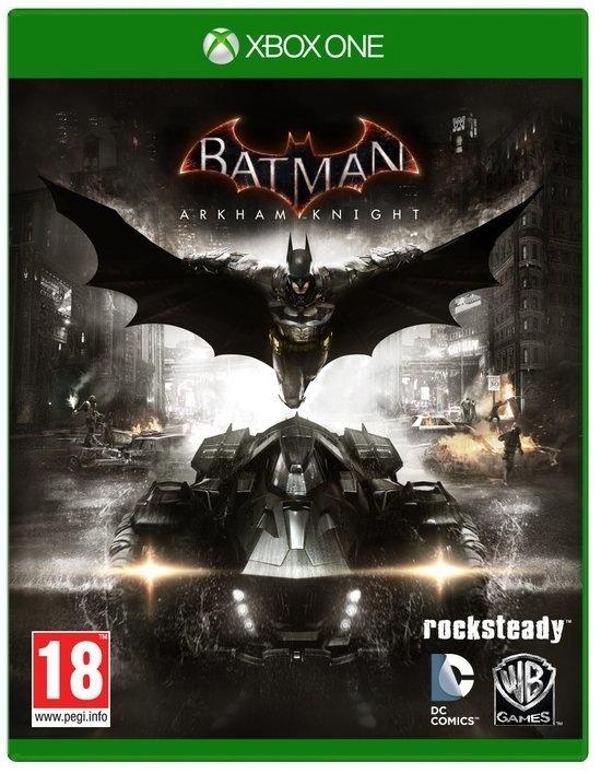 Batman Arkham Knight inclusief Harley Quinn story pack (Xbox one nieuw)