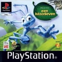Een luizenleven Platinum mist cover (PS1 tweedehands game)