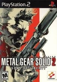 Metal Gear Solid 2 Sons of Liberty (PS2 Used Game)