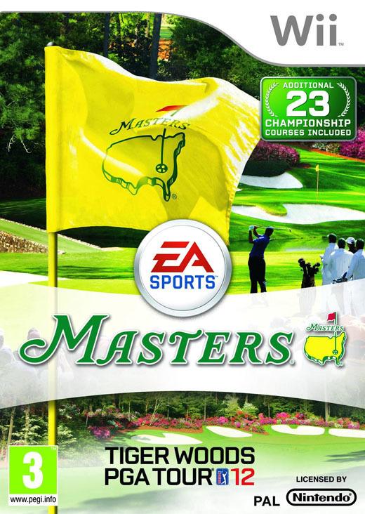 Tiger Woods PGA Tour 2012 Masters (Wii nieuw)