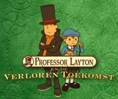 Professor Layton and the lost future (Nintendo DS tweedehands game)