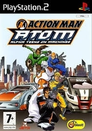 Action Man A.T.O.M Alpha Teens on Machines (ps2 nieuw)