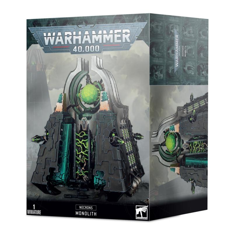 Warhammer 40.000 Necrons Monolith (Warhammer nieuw)