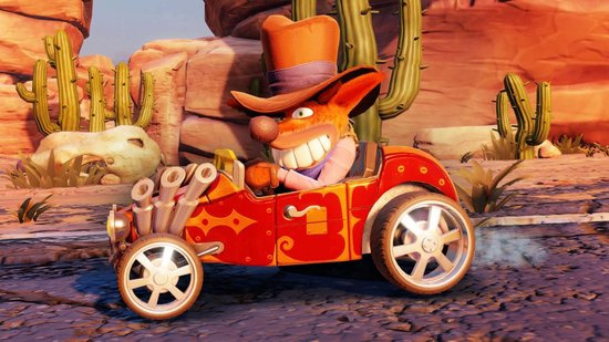 Crash Team Racing Nitro Fueled (ps4 nieuw)