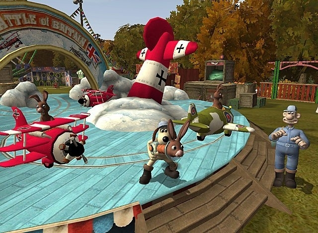 Wallace and Gromit and the curse of the Were-Rabbit  (ps2 nieuw)