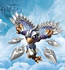 Skylanders Superchargers Storm Blade (skylander tweedehands)