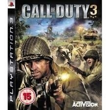 Call of duty 3 (ps3 used game)