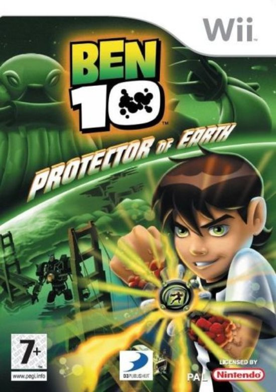 Ben 10 Protector of Earth (wii used game)