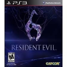Resident Evil 6 (ps3 used game)