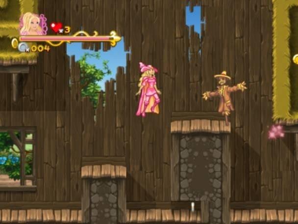 Barbie and the three musketeers (Nintendo wii tweedehands game)