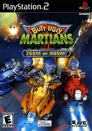 Butt-Ugly Martians Zoom or Doom (ps2 used game)