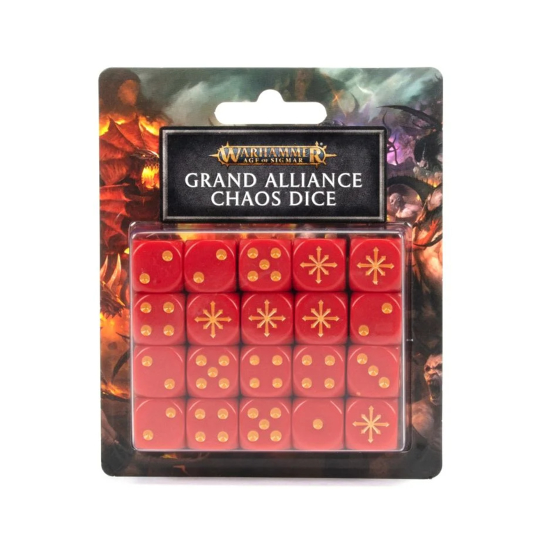 Grand Alliance Chaos Dice (Warhammer Age of Sigmar nieuw)