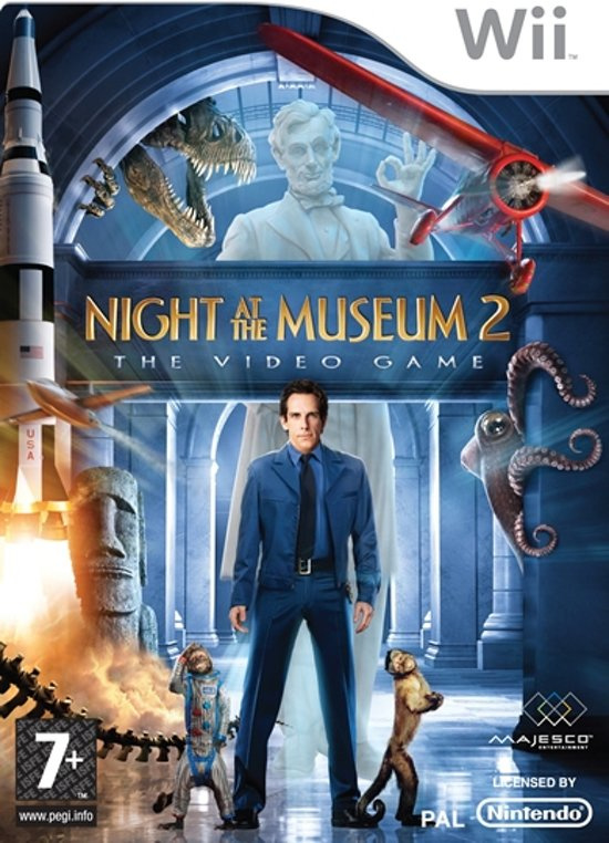 Night at the museum 2 the videogame (Wii tweedehands game)