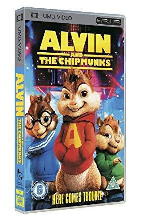 Alvin and the Chipmunks (psp tweedehands film)