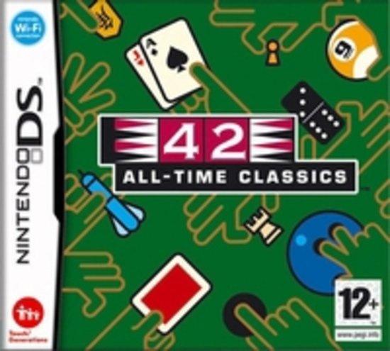 42 All Time Classics, DS (Nintendo DS nieuw)