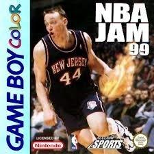 NBA JAM 99 losse cassette (Gameboy Color tweedehands game)