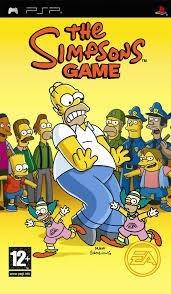 The Simpsons Game (psp tweedehands game)