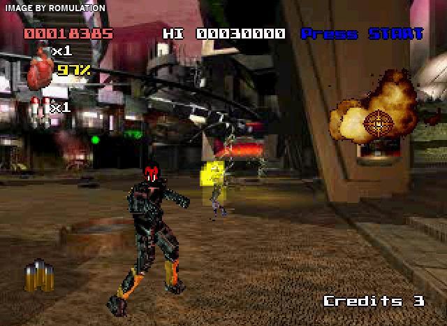 Judge Dredd (ps1 tweedehands game)