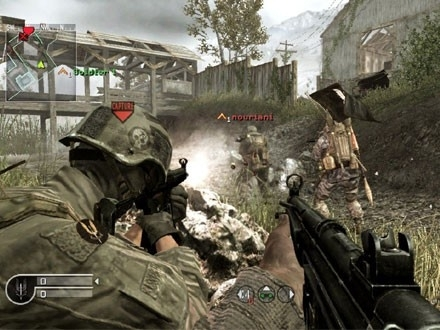 Call of Duty Modern Warfare (ps3 used game)