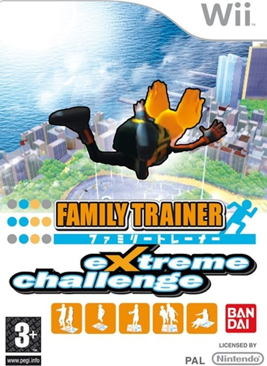 Family Trainer extreme challenge game only (Nintendo Wii nieuw)