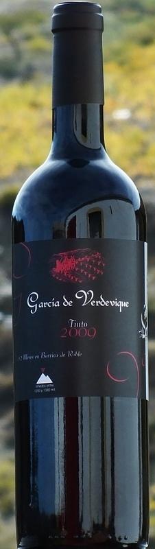 Garcia de Verdevique  Crianza (€ 18,95)