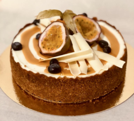 Passievrucht Cheesecake