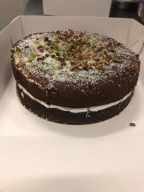 Banaan Pecan Cocos Cake