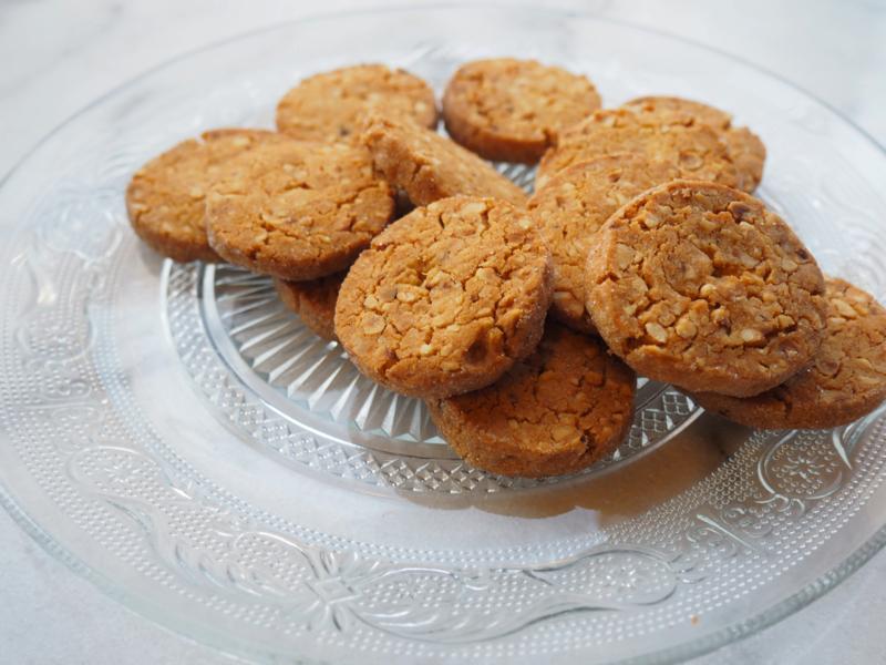 Roomboter hazelnoot koekjes