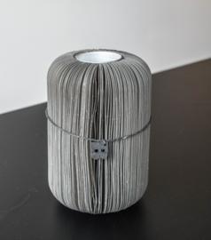 Paper fan high – Grey