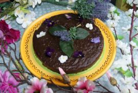 Vegan chocoladetaart - 8p