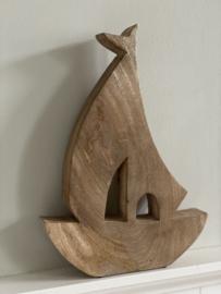 Zeilboot mangohout 31 cm