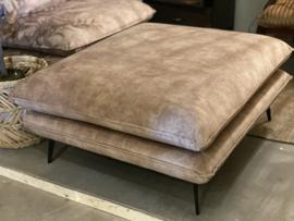 Sofa hocker  taupe/ beige kleur