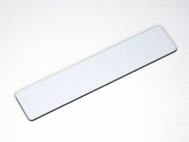 Naamplaat 93x19 `K89` Wit/Zwart, blanco (webart007)