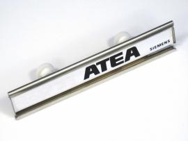 Naamplaathouder ATEA/Siemens 110x21 (webart057)