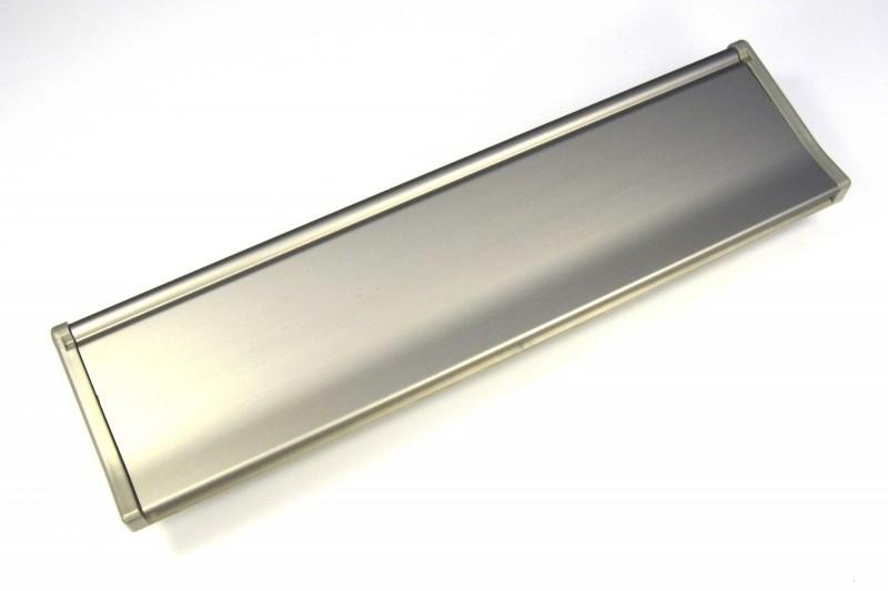 Briefplaat EMA307 RVS-look --_--_-- (webart179)