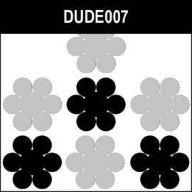 Dude007 Zwart / Grijs