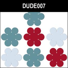 Dude007 Rood & Blauw