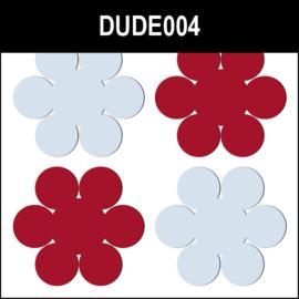 Dude004 Rood & Blauw
