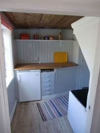 Keuken in oud huisje