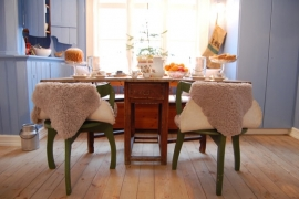 Oude Zweedse keuken