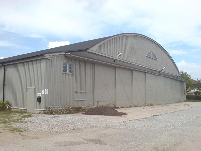 Hangar oude vliegveld Malmö