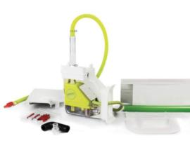 Aspen pomp condenspomp Mini Lime Silent+ leidinggoot (Inoac) CD-75, ivoor