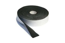 Isolerende plakband,  Foamtape zwart.
