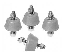 Vibratiedempers voor Airco buitenunit. Per set van 4 stuks