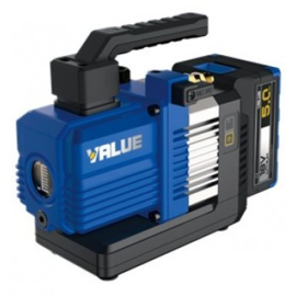Vacuumpomp voor airco of koeltechniek  1 Traps  op accu