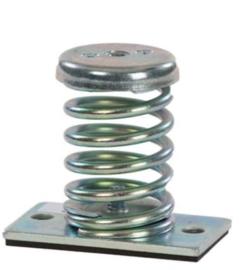 Universeel Trillingsdemper metalen AM-25 M veervoet 10-25kg M8 prijs per stuk